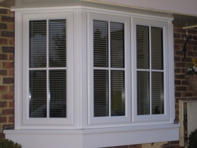 Bay window double glazing